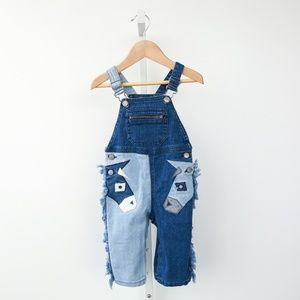 Stella McCartney Kids Bottoms - Stella McCartney Kids Denim Overalls
